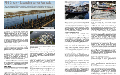 AMT Magazine features PFG as industry leader